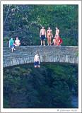 Jumping Into Beebe Lake