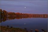 Moonrise Over Conesus Lake