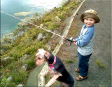 Fishing Pals ~ Emmett & Jackson
