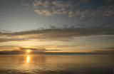 Sunset after leaving Metlakatla (6063)