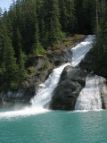 Tracy Arm Waterfall (0532L)