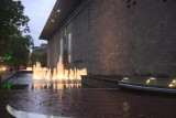 fountains at the NGV