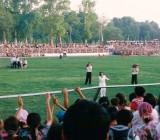 Concert of Yulduz  Usmanova at Margilan football stadium