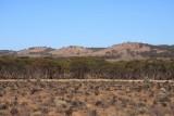 Mountain Range near Burra