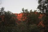Sunrise in Wilpena Pound
