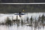 Canoeing on Lysterfield Lake
