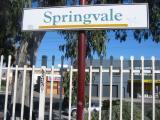 Springvale railway station