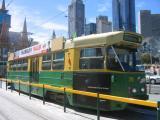 The old melbourne tram