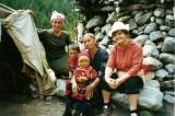 Raisa and a Kyrgiz family