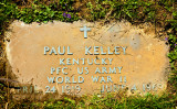 MY UNCLE PAUL'S GRAVE MARKER