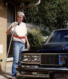 LARRY WASHING CAR