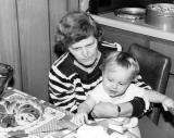 Mom and Ryan 1982