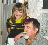 BRENNA AND HER DAD, JIM