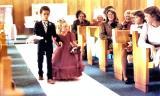 BRIAN AND KELLY AT WEDDING