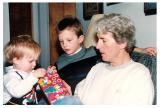 KIDS HELP OPEN PRESENTS 1990
