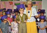 MY SON, BRETT, GRAD FROM PRE-SCHOOL