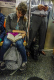 Reading on the A Train