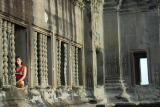 Meditation at Angkor Wat