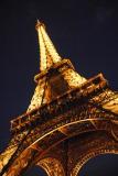 Eiffel Up Close at Night