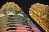 Illuminated Marina Towers