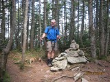 Gerry at cairn of East Osceola