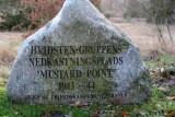 The Hvidstensgroups weapons dropping point  1943 - 44 / Waffen unterwerfen Platz