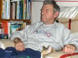 DAd  & Lassie sleeps