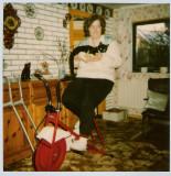 Lassie 1 & Tove tager en tur på kondicyklen