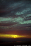 Sunset at deserted Churchill airfield