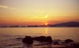 Sunset at English Bay