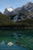 Reflection of Opabin Plateau and Mount Schaeffer in Lake O'Hara