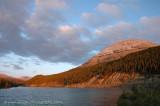 Sunrise at Summit Lake - Alaska Highway