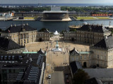 view of Amalienborg from the Marble Church
