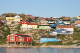 Coloured houses, Ilulissat (Greenland)