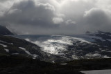 gletsjer in de zon