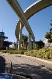 Monorail overpass