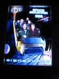 Someone was closing her eyes on Space Mountain!!