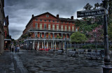 Jackson Square after an early rain