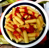 ..Appetite comes with eating. ........Maccheroni