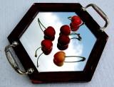 Cherries in the mirror