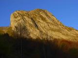 Rocher d'Aran, versant Est