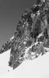 Première ascension du Couloir Pombie-Suzon en hiver