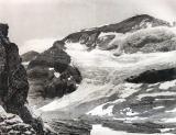 Mont Perdu, glacier du versant nord, années 20