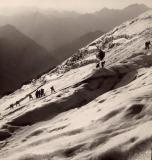 1942 : Sortie Jeunesse et Montagne sur le glacier d'Ossoue
