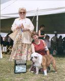 Best of Breed, Hunterdon Hills Kennel Club - Sunday 08/06/2006 Mrs. William (Vernelle) L. Kendrick