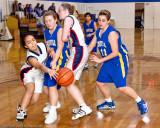 Marymount High School JV Basketball 12-20-08