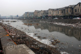 The polluted Kabul river
