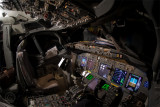 Flightdeck at night