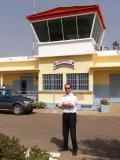 Christiaan on Tambacounda