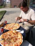 Big pizzas!